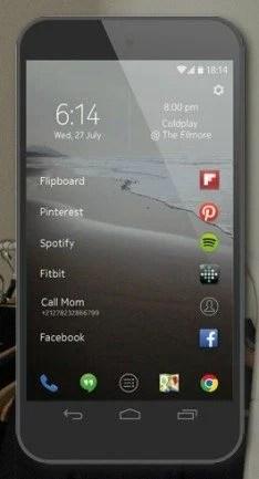 Z launcher Android App Launcher Nokia Showmetech 1 e1403215009169 - Time da Nokia cria novo App Launcher para... o Android!