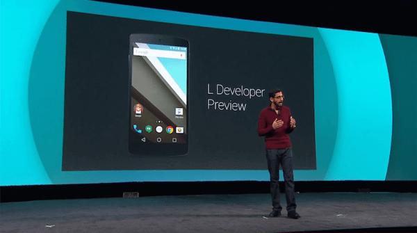 google android l 600x335 - Resumo: tudo o que aconteceu na Google I/O 2014