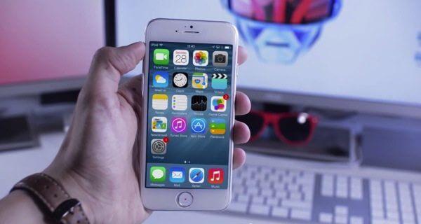 IPhone 6 com iOS 8