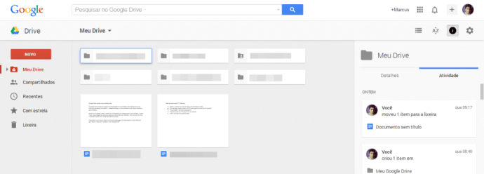 Novo Google Drive - Showmetech