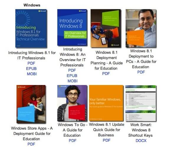 Microsoft Ebooks Gratuitos