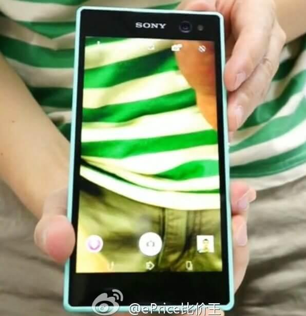 Novo Xperia C3 com flash frontal - Sony vai lançar smartphone para quem gosta de selfies