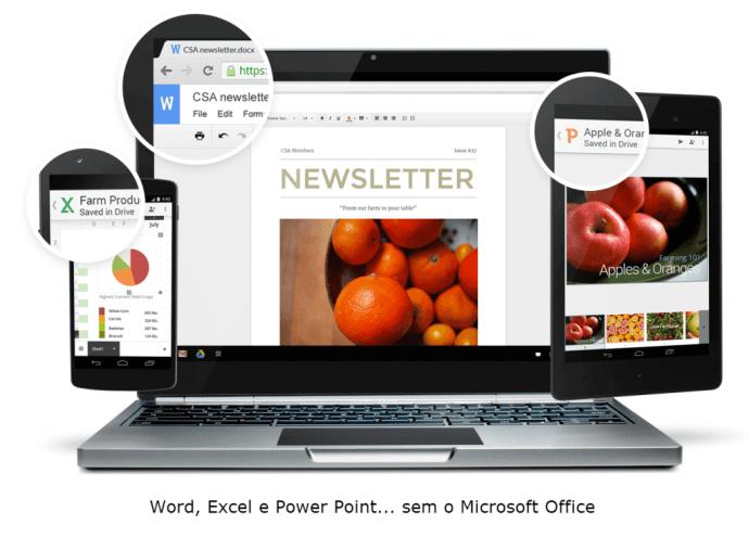 Office Editing for Docs Sheets and Slideshows sem Microsoft Office Google Docs 2 720x530 - Extensão gratuita permite editar e criar arquivos do Word, Excel e Power Point no Google Chrome