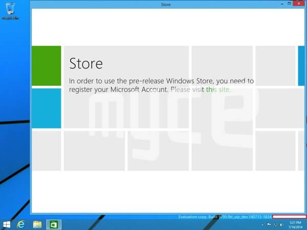 Windows 9 Metro no Desktop - Windows 9: imagens vazadas mostram o novo menu Iniciar
