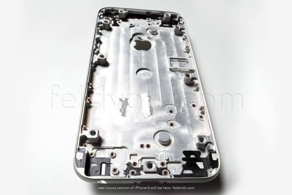 IPhone 6 frente prata
