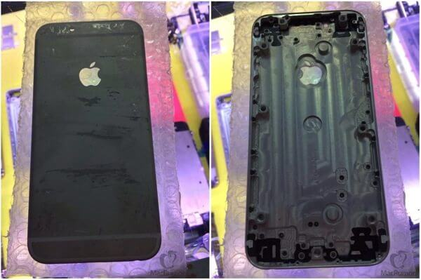 IPhone 6 traseira preto