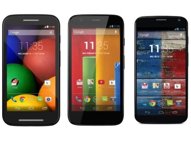 Moto X e G vão receber Android L