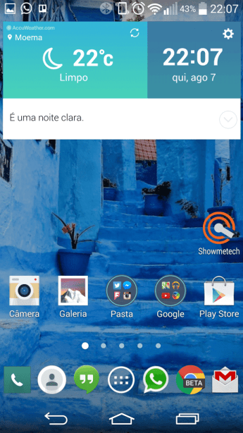 LG G3 launcher interface2