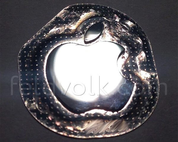 Iphone 6 logo liquidmetal