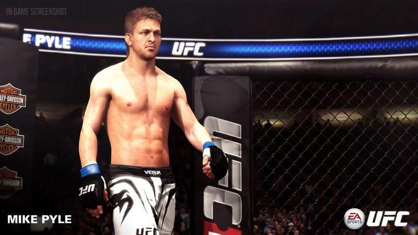 ufc mike pyle 01 - Jogo UFC da EA Sports recebe três novos lutadores