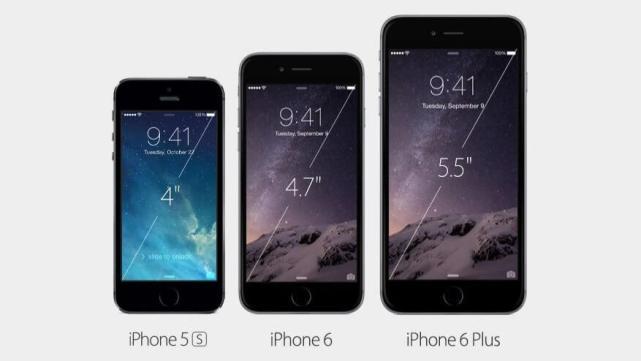 Veja a evolução no tamanho da tela do iPhone