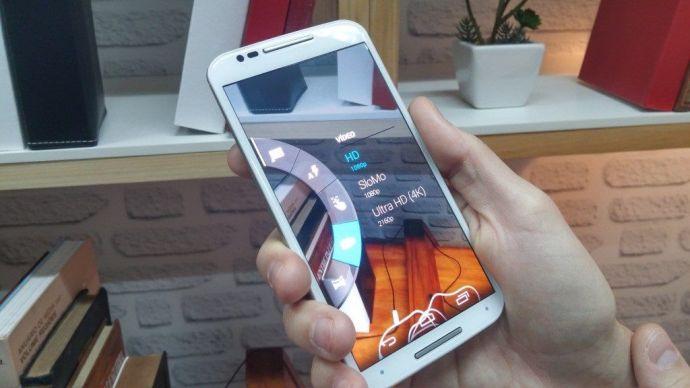Moto G com filmes em 4K