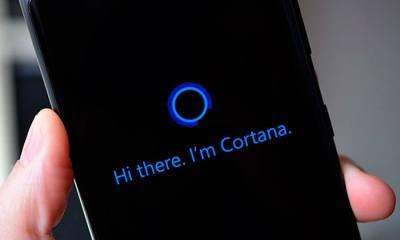 cortana 1 - Assistente Cortana poderá ser ativada por voz