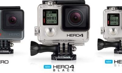 gopro hero4 back silver - GoPro lança nova linha de câmeras