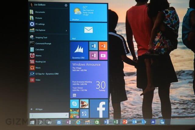 windows 10 4 - Microsoft apresenta o Windows 10 para computadores, smartphones e tablets