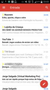 caixa de entrada gmail