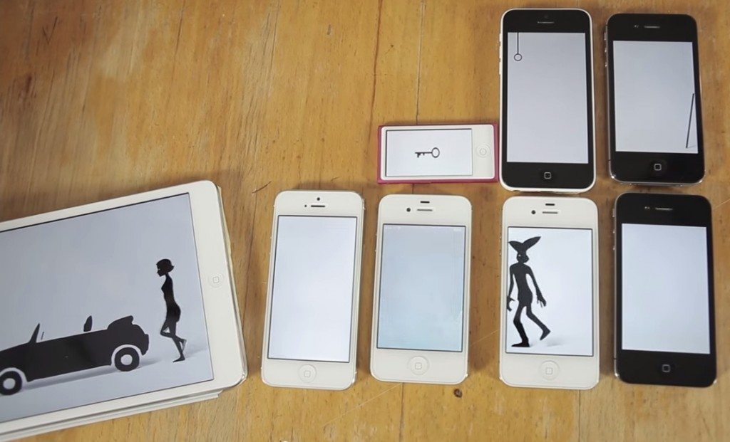 knoc knock iphones ipads brunettes - iPads, iPhones e uma história de amor