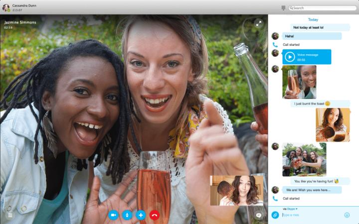mac31 720x450 - Skype revela novo design para Mac e Windows