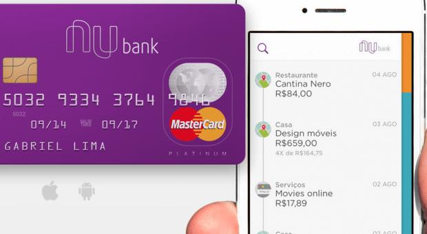nubank banco servico produto bancario financeiro 620x340 - Testamos: Nubank, o cartão de crédito com suporte Android e iOS