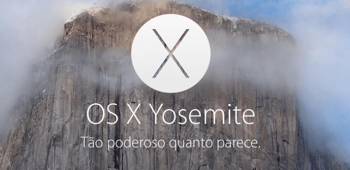 os x yosemite 720x351 - Baixe agora o OS X Yosemite; iOS 8.1 ficou para semana que vem