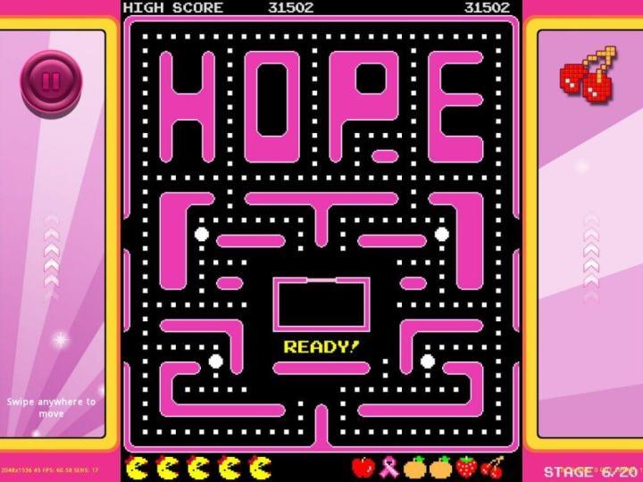 Pac-Man Outubro Rosa - Gamespot