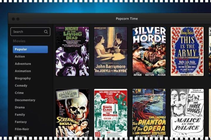 """popcorn time d 720x480 - Popcorn Time: serviço de streaming """"pirata"""" muda de endereço após suspensão de domínio"""