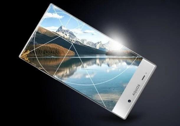 sharp aquos cristal - O smartphone mais lindo do mundo já está à venda nos EUA