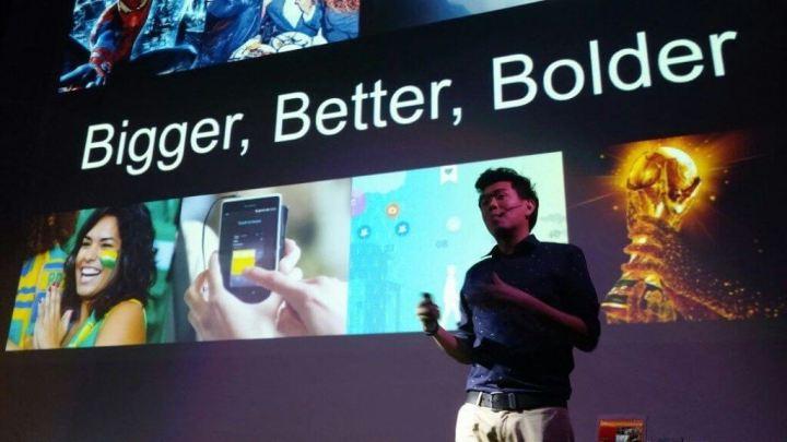 Joe Tanaka apresenta as novidadees no evento em São Paulo