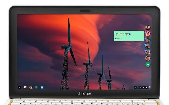 Hangouts Material - Chrome (Showmetech)