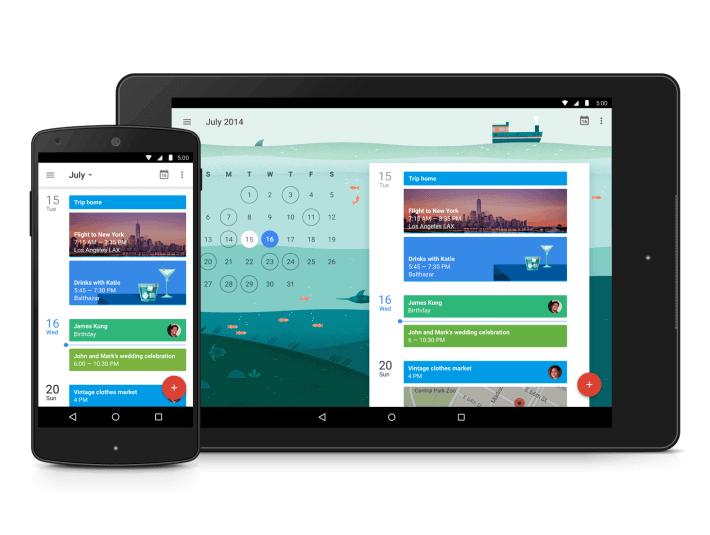 google calendar 710x535 - Google Calendar ganha novo design e novas funções (APK Download)