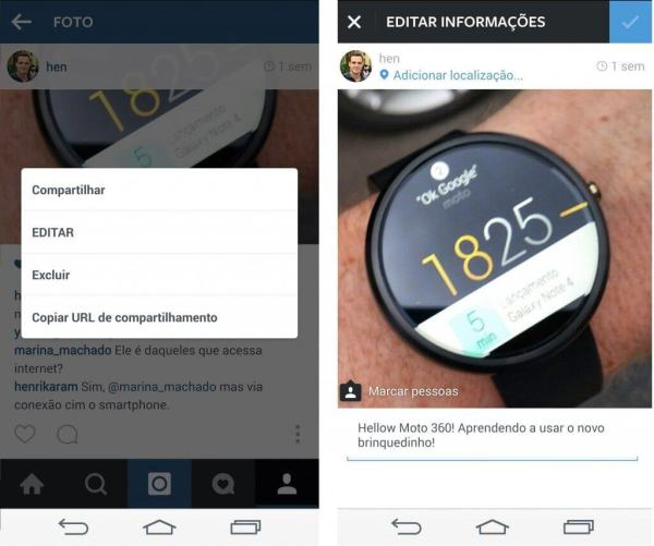 instagram agora permite editar legenda1 - Instagram agora permite editar legenda das fotos