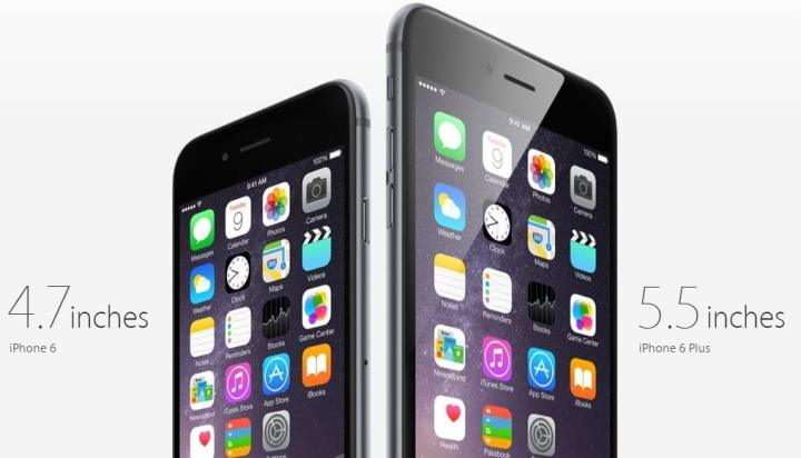 iphone 6 e 6 plus apple 720x412 - Review-combate: iPhone 6 vs. iPhone 6 Plus