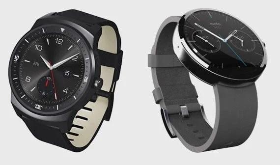 lg g watch r moto 360 smartwatach vs x relogio - LG G Watch R ganha review comparado com o Moto 360