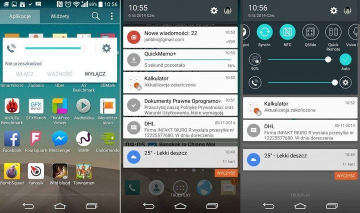 lg g3 android 5 0 lollipop 720x426 - LG G3 e Moto X começam a receber o Android 5.0 (Lollipop)