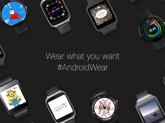 android wear watch face api - Atualização para Android Wear trará novos estilos e funções