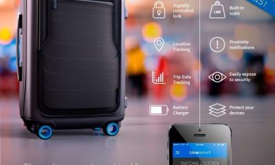 bluesmart a mala tecnologica 18 - Bluesmart – A sua mala Geek (com alça!)