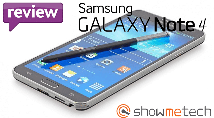 Review: Galaxy Note 4 (SM-N910C)