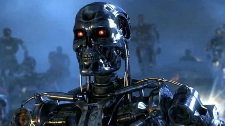 """Skynet, a rede de computadores que tenta exterminar a humanidade em """"O Exterminador do Futuro""""."""