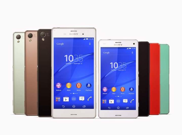 000 xperia z3 xperia z3 compact colour range 720x534 - Android Lollipop chega à linha Xperia Z