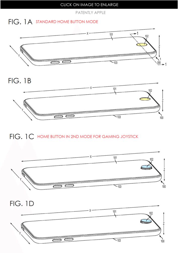 6a0120a5580826970c01b7c736e544970b 800wi 1 710x1000 - Patente Apple: Home Button poderá funcionar como Joystick