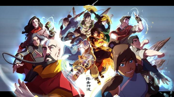 avatar the legend of korra widescreen wallpaper 720x405 - Steam: fim de semana de anime games