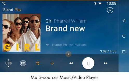 Parrot_RNB6_multi_sources_music_video_player