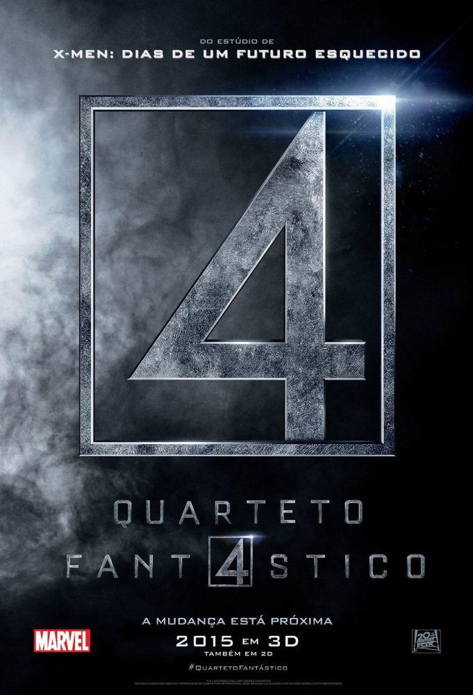 quartetofantasticoposter 681x1000 - Veja o primeiro trailer do Quarteto Fantástico!