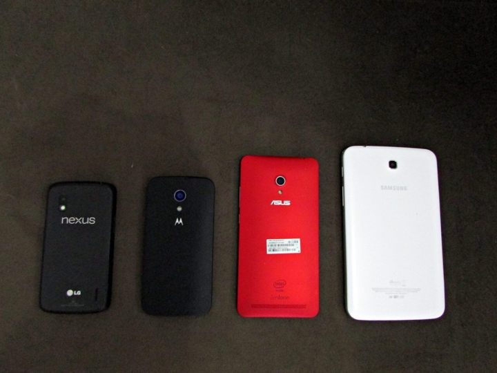 review asus zenfone 6 comparativo traseira - Review: Phablet Asus Zenfone 6