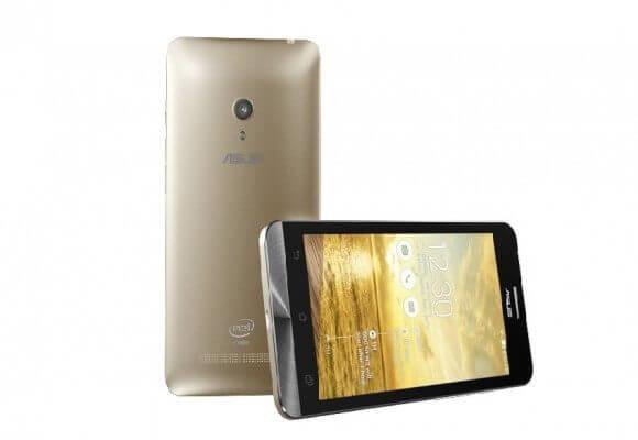 zenfone 5 front 580x400  - Review: Phablet Asus Zenfone 6