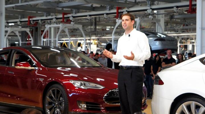 JB Straubel, diretor técnico da Tesla.