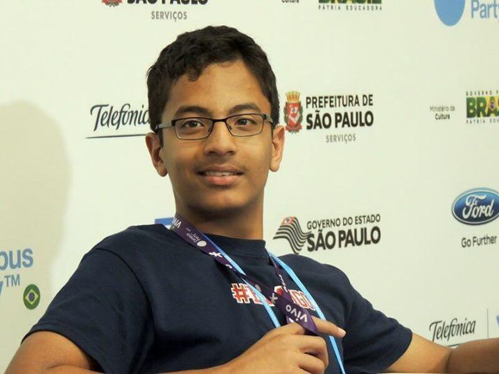 shubhan banerjee 11 720x540 - Garoto de 13 anos mostra impressora braile feita de Lego
