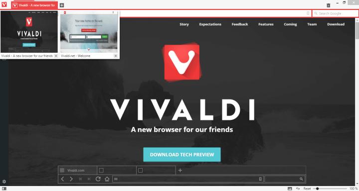 vivaldi screenshot1 720x384 - Review: Vivaldi, o novo browser do criador do Opera