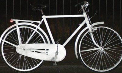 bicicleta volvo lifepaint - Volvo LifePaint: Spray reflexivo para tornar ciclismo mais seguro