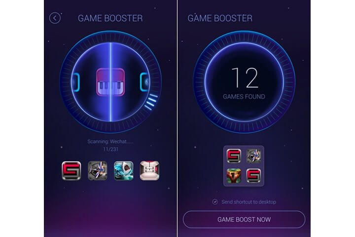 gamebooster 720x480 - DU Speed Booster promete deixar seu Android até 60% mais rápido
